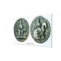 The Great Seal of Edward I Canvas Print