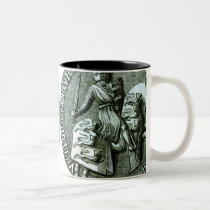 The Great Seal of Edward I Two-Tone Coffee Mug