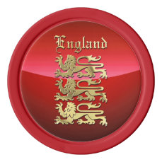 The Great Seal Of England Poker Chips