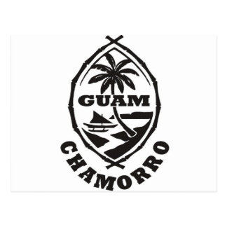 The great seal of Guam Postcard