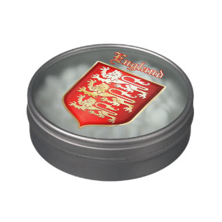 The Great Seal of King Richard the Lionheart Jelly Belly Tins
