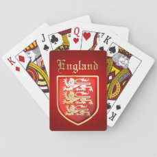 The Great Seal of King Richard the Lionheart Playing Cards