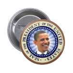 The Great Seal of Obama Magnet Pin