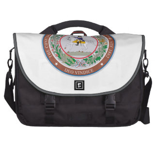 The Great Seal of The Confederacy Commuter Bag