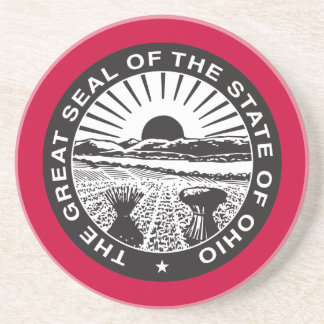 The Great Seal Of The State of Ohio Coasters