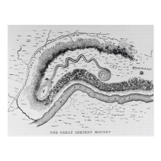 The Great Serpent Mound Postcard