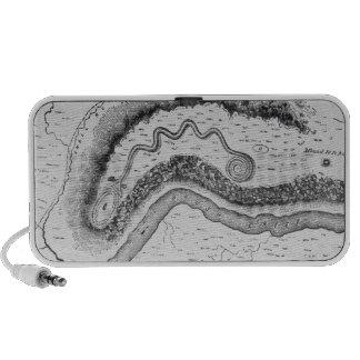 The Great Serpent Mound Notebook Speaker
