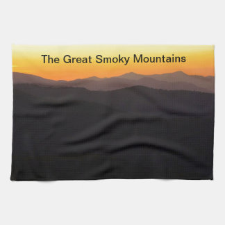 The Great Smoky Mountains Hand Towel