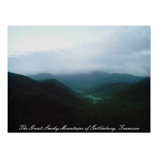 The Great Smoky Mountains of Gatlinbu... Posters