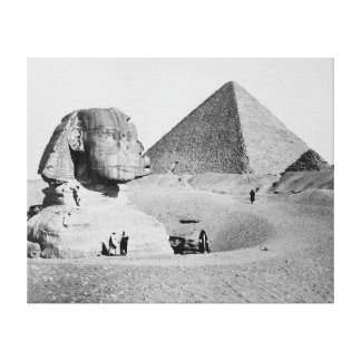The Great Sphinx, 1877 Gallery Wrap Canvas