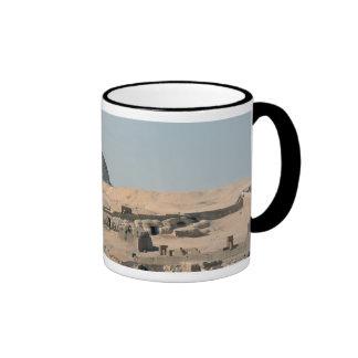 The Great Sphinx and Khafra's Pyramid Ringer Mug