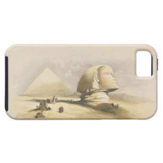 """The Great Sphinx and the Pyramids of Giza, from """"E iPhone SE/5/5s Case"""