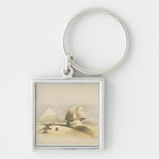 """The Great Sphinx and the Pyramids of Giza, from """"E Keychains"""