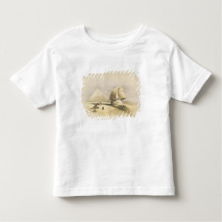 """The Great Sphinx and the Pyramids of Giza, from """"E Toddler T-shirt"""