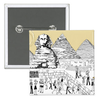 The Great Sphinx Pinback Buttons