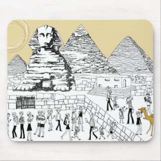 The Great Sphinx Mouse Pad