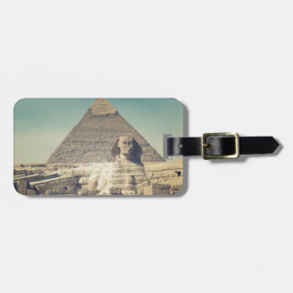 The Great Sphinx of Giza Bag Tag
