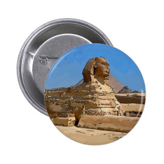 The Great Sphinx of Giza Pinback Buttons