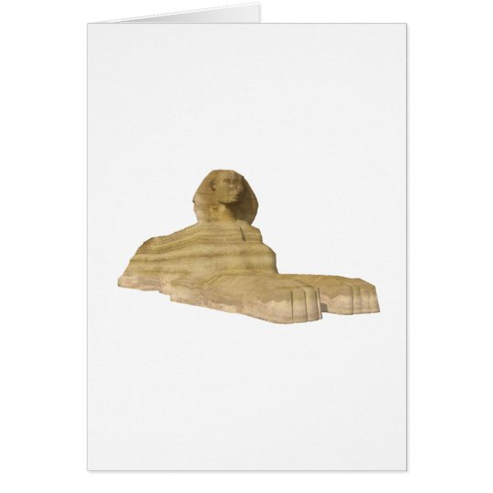 The Great Sphinx of Giza: Card
