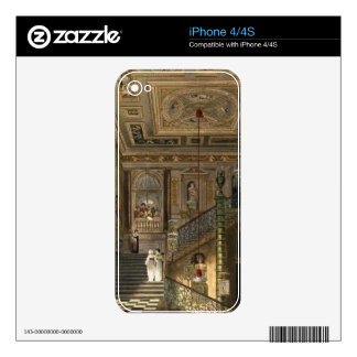 The Great Staircase at Kensington Palace From Pyne Decals For iPhone 4