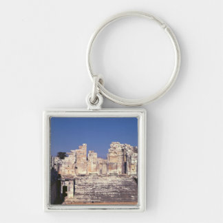 The Great Staircase of the Temple of Apollo Keychain
