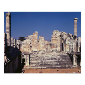 The Great Staircase of the Temple of Apollo Posters