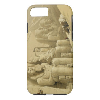 """The Great Temple of Abu Simbel, Nubia, from """"Egypt iPhone 7 Case"""