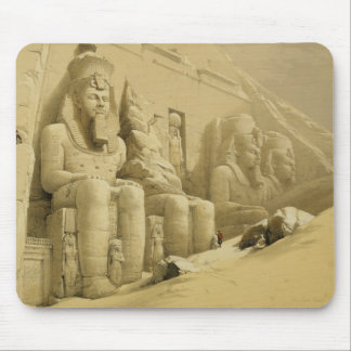 """The Great Temple of Abu Simbel, Nubia, from """"Egypt Mouse Pad"""