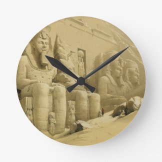 """The Great Temple of Abu Simbel, Nubia, from """"Egypt Round Clock"""