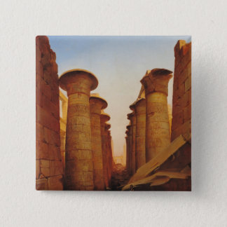 The Great Temple of Amun at Karnak Pinback Button