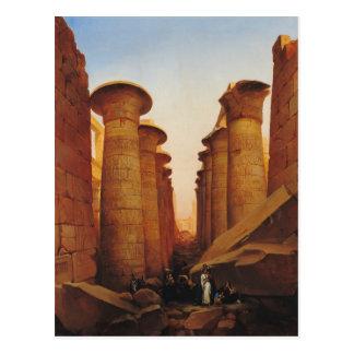 The Great Temple of Amun at Karnak Postcard
