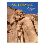 The Great Temple of Ramesses II at Abu Simbel Post Cards