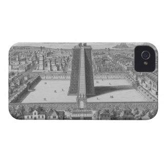 The Great Temple of Vitsliputsli in Mexico City, i Case-Mate iPhone 4 Case