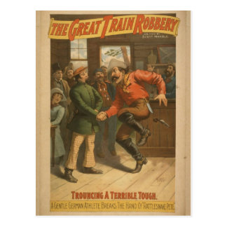 The Great Train Robbery Postcard