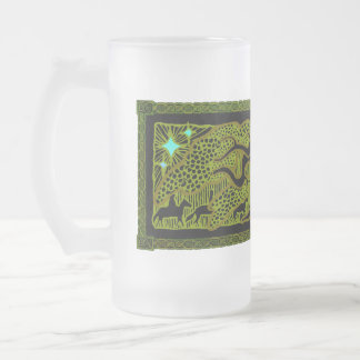 The Great Tree Frosted Glass Stein