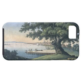 The Great Tree of Kingston with a view of Philadel iPhone SE/5/5s Case