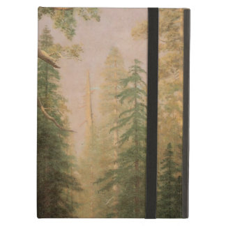 The Great Trees, Mariposa Grove, CA by Bierstadt iPad Air Cover