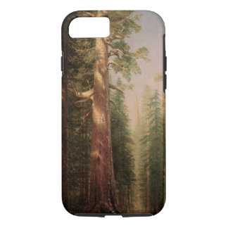 The Great Trees, Mariposa Grove, CA by Bierstadt iPhone 8/7 Case