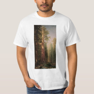The Great Trees, Mariposa Grove, CA by Bierstadt T-Shirt