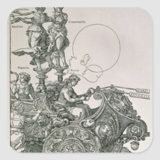 The Great Triumphal Chariot Square Sticker