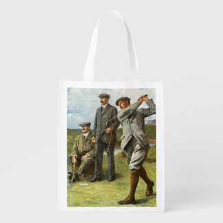 The Great Triumvirate Reusable Grocery Bags