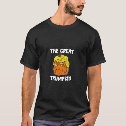The great trumpkin T_shirt for men