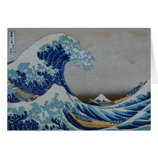 The Great Tsunami Greeting Card