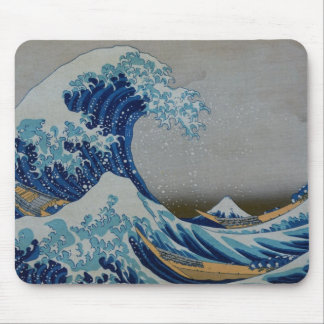 The Great Tsunami Mouse Pad
