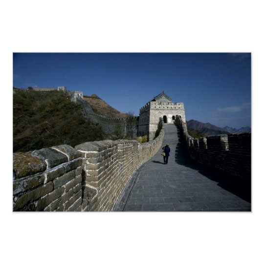 The Great Wall, Beijing, China Poster