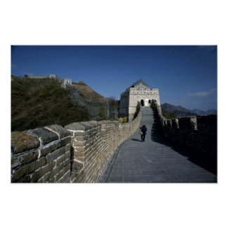 The Great Wall, Beijing, China Print