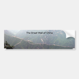 The Great Wall Bumper Sticker