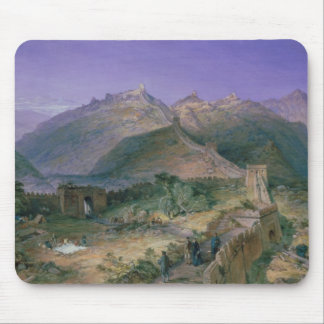 The Great Wall of China, 1886 (w/c) Mouse Pad
