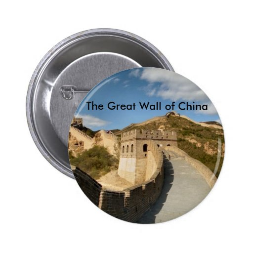The Great Wall of China 2 Inch Round Button