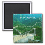 The Great Wall of China 2 Inch Square Magnet